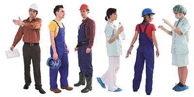 استانداردهای لباس کار
