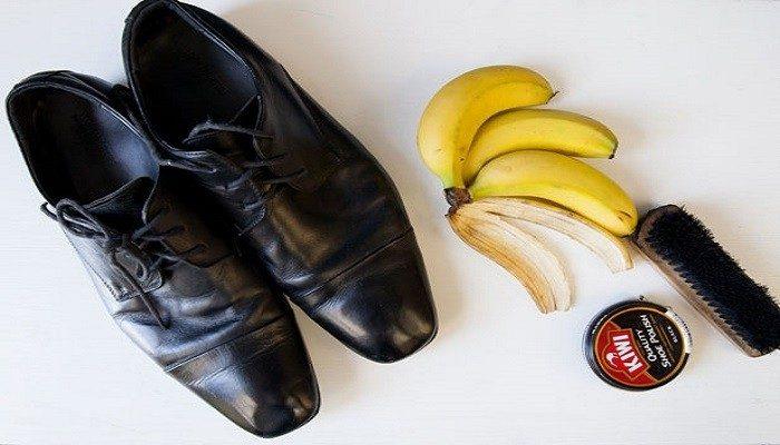 تمیز کردن کفش های چرمی